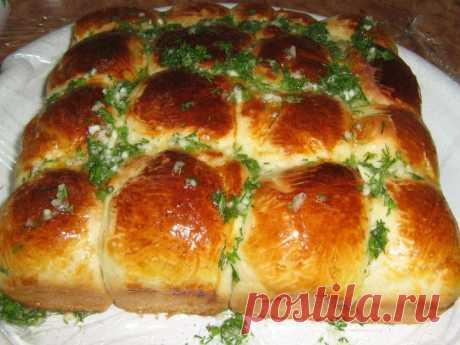(+1) тема - Вкуснейшие пампушки с чесночным соусом к борщу! | Любимые рецепты