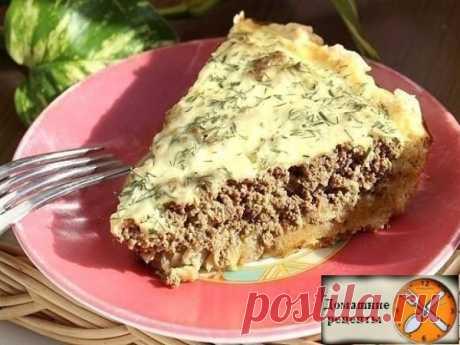 Пирог с печенью - непередаваемая вкуснятина! Рецепт теста очень простой не требующий привлечения ни кухонного комбайна, ни миксера.