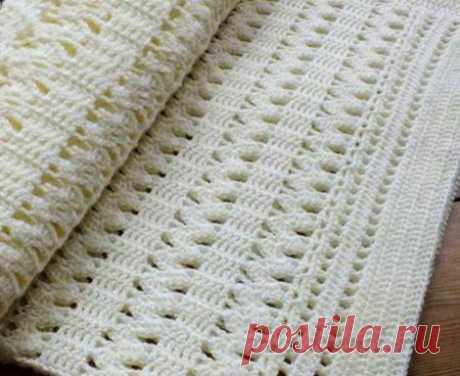 Узоры крючком  Вязаные узоры крючком для прямого полотна, очень различные. Данный узор можно применить как для вязания шарфов, так и кофточек. Этот узор красивый и нежный.Узоры крючком, схема:  https://ru4kami.ru/vy…