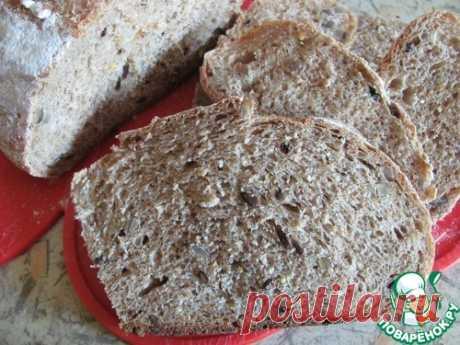Пшеничный хлеб с горчицей – кулинарный рецепт