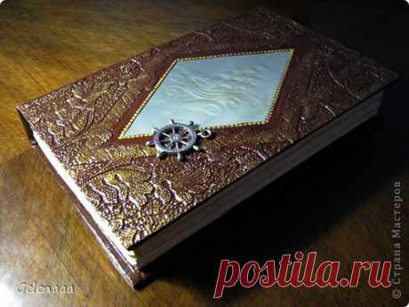 Книга-шкатулка своими руками из старой книги.