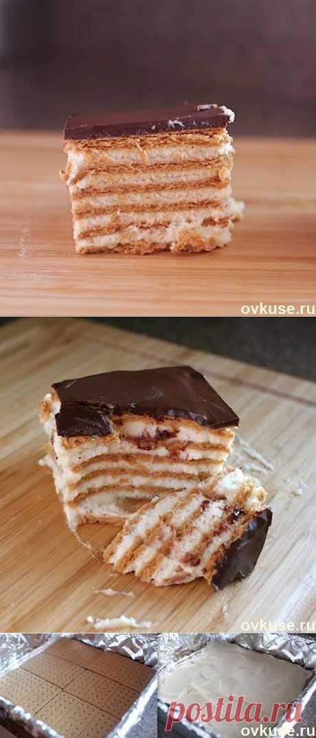Шоколадный торт-эклер - Простые рецепты Овкусе.ру