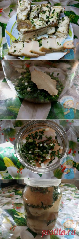 как засолить сало в рассоле — простой и очень вкусный рецепт