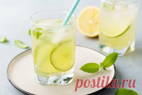 Домашний лимонад с мятой: рецепт пошаговый с фото   Меню недели