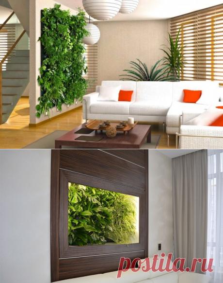 Эко-стиль в интерьере, или Растений много не бывает | Мой дом