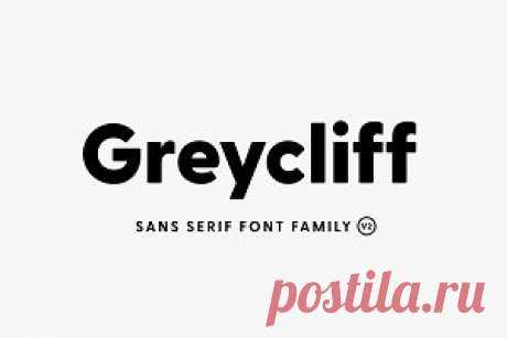 Greycliff CF: geometric sans font v2 ~ Sans Serif Fonts ~ Creative Market