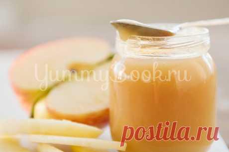 Детское яблочное пюре - простой и вкусный рецепт с пошаговыми фото Как приготовить детское яблочное пюре. Пошаговый рецепт с фотографиями, подробным описанием и ингредиентами.