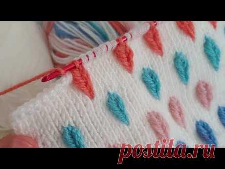 Super Easy Tunisian Crochet - Tunus İşi Bu Modeli Cok Seveceksiniz