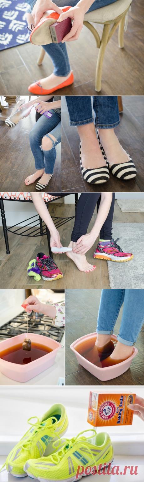 11 незаменимых лайфхаков для обуви! Теперь ноги не устают даже после целого дня на каблуках.