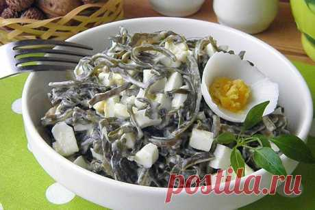 Салаты из морской капусты - 15 простых и очень вкусных рецептов