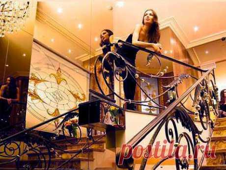 Художественная ковка лестниц