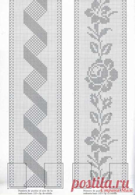 Паутинка на ветру: комбинированная юбка - Вяжем вместе он-лайн - Страна Мам