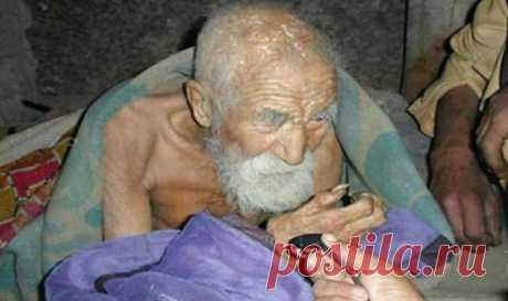Об этом человеке забыла смерть и ему уже более 180 лет! «Я — самый старый человек в мире, родился 181 год назад. Смерть забыла обо мне». Его зовут Махашта Мураси, он — сапожник из Варанаси, что на севере Индии....