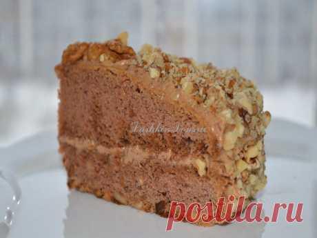 Ореховый торт. Рецепт и пошаговые фото Наташи Чагай.