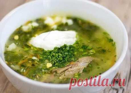 Green borsch without uniform calorie! | Diets from all over the world