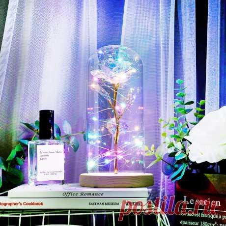 669.45руб. 40% СКИДКА|Зачарованный навсегда розовый цветок Золотая фольга Роза светодиодный светильник Искусственные цветы в стеклянном куполе вечерние украшения подарок для девочек|Искусственные и сухие цветы|   | АлиЭкспресс Покупай умнее, живи веселее! Aliexpress.com