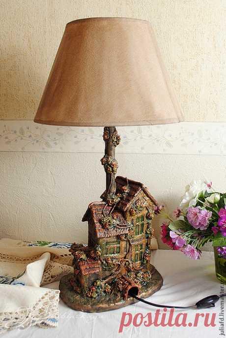 Лампа из мусора (Diy) / Освещение / ВТОРАЯ УЛИЦА
