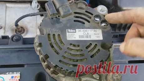 Снятие генератора, замена ремня, замена роликов на Peugeot 307 1.6 бензин 16 клапанный. - Яндекс.Видео