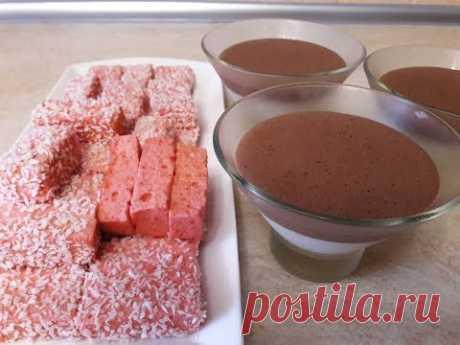 Клубничные конфеты и ванильно шоколадный десерт ПРОСТЫЕ , ЛЕГКИЕ и ВКУСНЫЕ рецепты