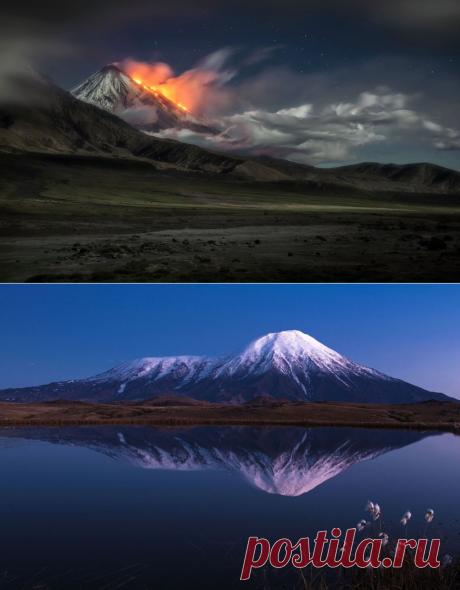 Потрясающие облака над вулканами Камчатки в объективе Владимира Войчука (Vladimir Voychuk) | Фотоискусство