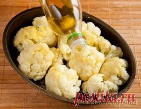 Цветная капуста в духовке цветная капуста – 1 головка сыр твердый – 100 г масло растительное – 2 ст ложки лук – 1 шт чеснок – 2 зубчика соль Для соуса Бешамель: масло сливочное – 60 г мука – 60 г (3 ст ложки) молоко – 500 мл соль перец мускатный орех Цветная капуста в духовке – очень вкусная вариация приготовления этого овоща. Цветную капусту отвариваем до «почти готовности». Имеется в виду, что она должна быть готовая, но не разваливающаяся. Отваренную капусту разламываем...