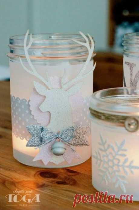 Новогодние фонарики - Домашний hand-made