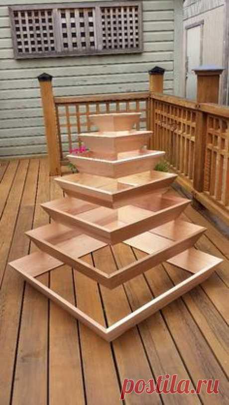 DIY Pyramid Planter