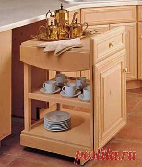 Где хранить посуду на : 12 практичных идей для выдвижных полок - Учимся Делать Все Сами