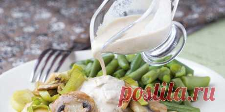 8 интересных рецептов сметанного соуса