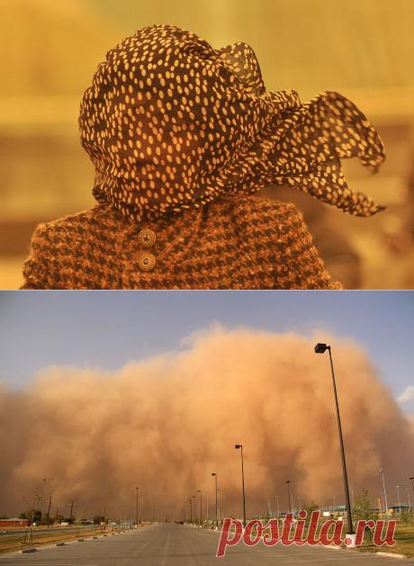 Необычная красота: песчаные бури — Фотошедевры