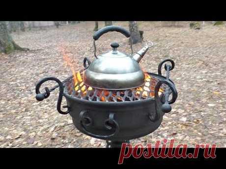СУПЕР МАНГАЛ ИЗ АВТОМОБИЛЬНОГО ДИСКА   СВОИМИ РУКАМИ   Amazing Barbecue Wheel Grill Diy!!!