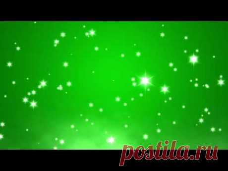 Green Screen Animation Sparkle Glitter Shine Lights footage effect / Футаж хромакей блеск