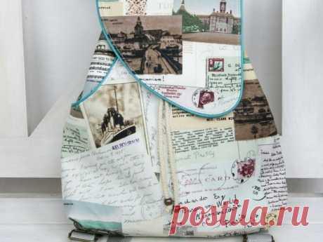 Мастер-класс смотреть онлайн: Шьем рюкзачок для путешествий | Журнал Ярмарки Мастеров