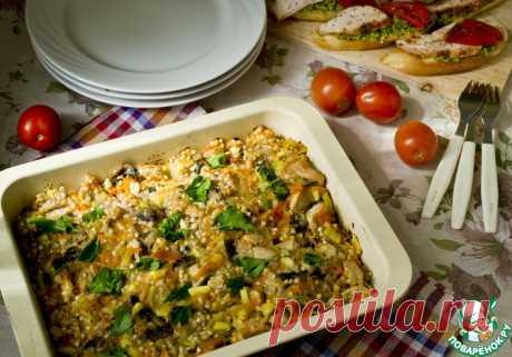 Гречка с овощами и мясом Кулинарный рецепт