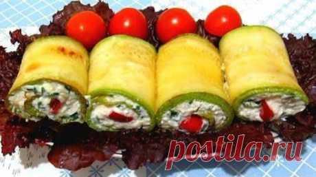 Обалденные рулетики из кабачков   Начался сезон свежих овощей, и я предлагаю вашему вниманию рецепт обалденных рулетиков из кабачков. Кабачковые рулетики просто бесподобные: они привлекают внимание не только красивым внешним видом, …