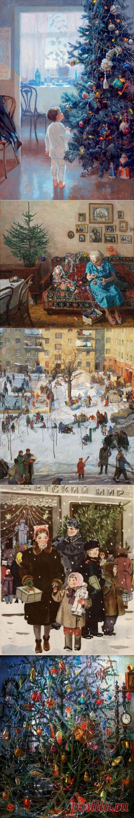 20 картин, наполненных волшебством Нового года