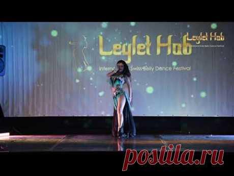Dariya Mitskevich - Leylet Hob 2 - International Swiss Bellydance Festival
