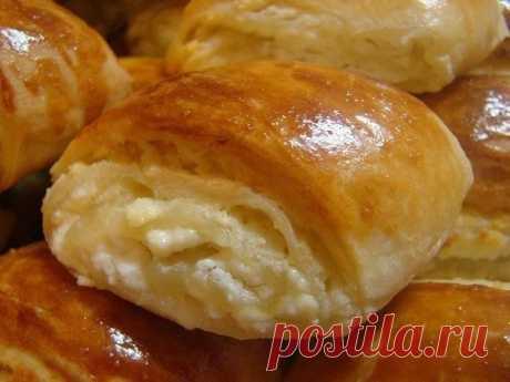 Булочки на кефире с творожной начинкой | Вкуснейшая кухня | Яндекс Дзен