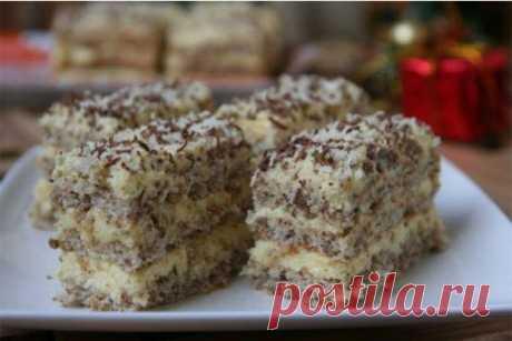 Очень легкий и нежный десерт к праздничному столу  Даже начинающие хозяйки смогут порадовать своих гостей! Этот нежный торт порадует не только ваших домочадцев, но и наверняка приятно удивит гостей.