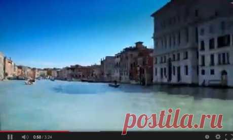 Итальянский фотограф Джоерг Ниггли (Joerg Niggli) снял красивейшее видео о своем путешествии по Венеции (Venice in a Day). Сегодня у вас есть возможность совершить видео-путешествие в этот замечательный город