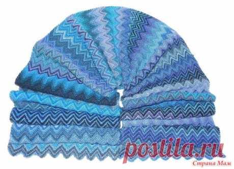 Как связать красивый шарф? - Вязание - Страна Мам