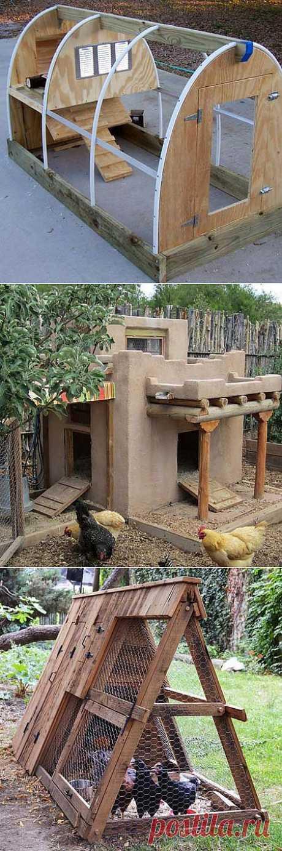 Курятники фото: 40 красивых курятников на даче - Дача Своими Руками