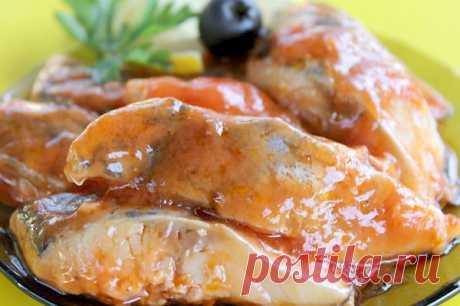 Сельдь по-корейски с томатной пастой | Печем и варим