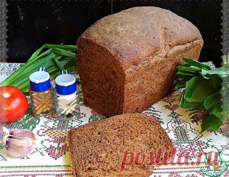 """Хлеб """"Постный"""" черемухово-солодовый – кулинарный рецепт"""