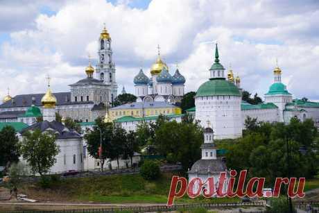 Православная жемчужина Подмосковья. Показываю, что посмотреть за один день в Сергиевом Посаде | BSPchannel | Яндекс Дзен