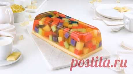 Десерт из жевательного мармелада: оригинальная красота своими руками - Вкусные рецепты - медиаплатформа МирТесен