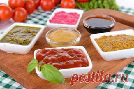 Готовим острые соусы и заправки - соусы, острые соусы, заправки, рецепты соусов