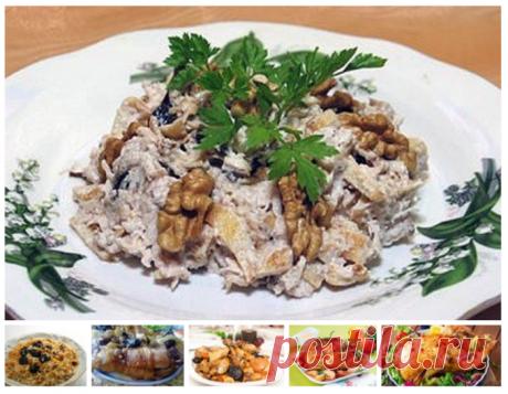 6 recetas de la gallina con las ciruelas pasas