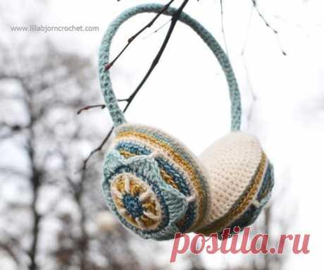 Вязание в технике Overlay Crochet