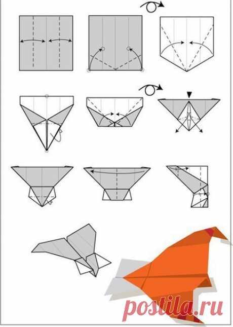 Модели бумажных самолетиков — Поделки с детьми